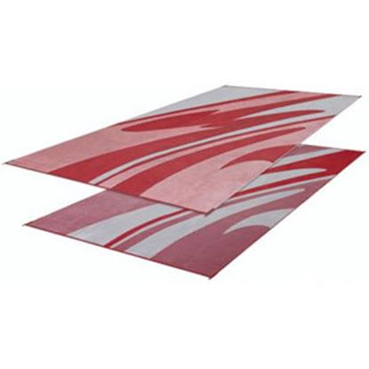 Picture of Faulkner  16' x 8' Burgundy Reversible Camping Mat 46361 01-0072