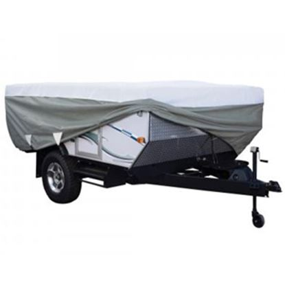 Picture of Classic Accessories PolyPRO (TM) 3 Poly Water Resistant RV Cover For 10-12' Folding Camper Trailers 80-039-153106-00 01-0391