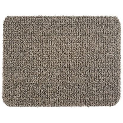 "Picture of Grass Worx  Earth Taupe Polyolefin18"" x 24"" Inside Door Mat 10372028 03-1900"