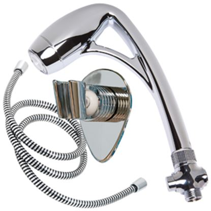 "Picture of Oxygenics BodySpa (R) 1-1/2"" Chrome Handheld Shower Head w/2 Spray Settings & 60"" Hose 26181 10-1642"
