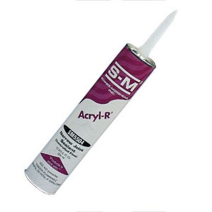 Picture of S-M Acryl-R (R) Clear 10.3 Oz Tube Self-Leveling Roof Sealant SM5504 CLEAR CTG 13-0733