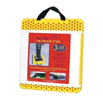 "Picture of AP Products Super Dolly 2-Pack 15"" x 17"" x 1"" Trailer Stabilizer Jack Pad 007-87825 15-0245"