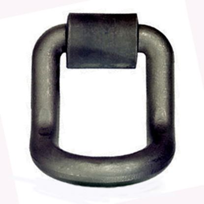 "Picture of Pacific Cargo  1"" D-Ring w/Weld-On Clip DR-100L-B 16-0674"
