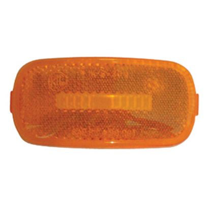 Picture of Diamond Group  Amber Side Marker Light Lens for Diamond Group 52711/52713 DG52716VP 18-2282