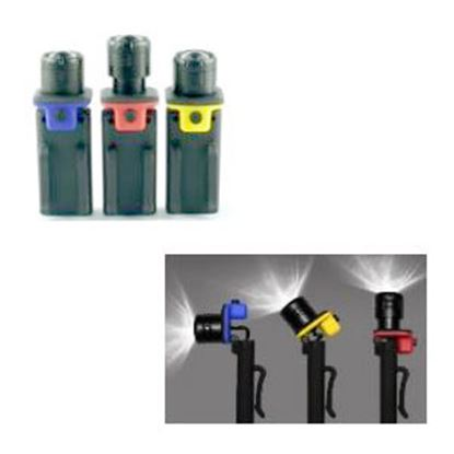 Picture of Green LongLife GoWISEUSA (R) Black LED Battery Operated Handheld Flashlight GW29006 18-8972