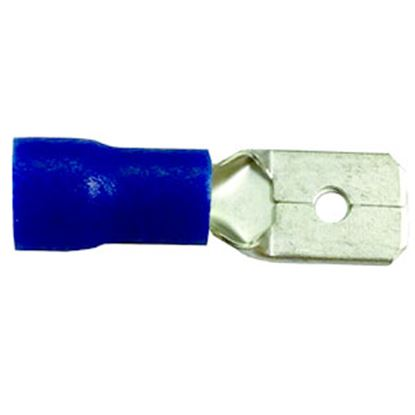 "Picture of Battery Doctor  100-Pack 12-10 Ga 1/4"" Vinyl Male Quick Disconnect Terminal 80292 19-3626"