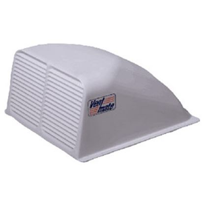 """Picture of Ventmate  Exterior Dome Type White Roof Cover For 14"""" X 14"""" Vents 67310 22-0223"""