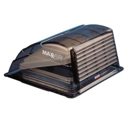 "Picture of MaxxAir  Exterior Dome Type Smoke Roof Cover For 14"" X 14"" Vents 00-933067 22-0371"