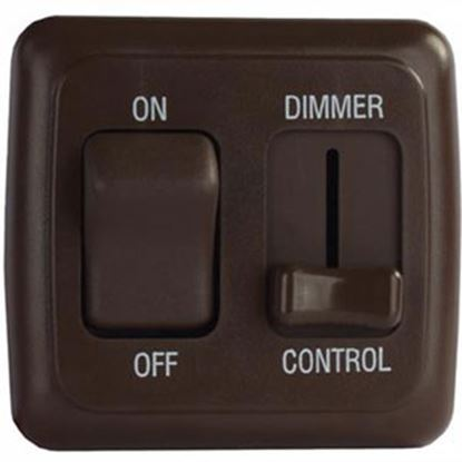 Picture of Diamond Group  Brown 15A/ 12V Dimmer Switch DGD3218VP 69-8840