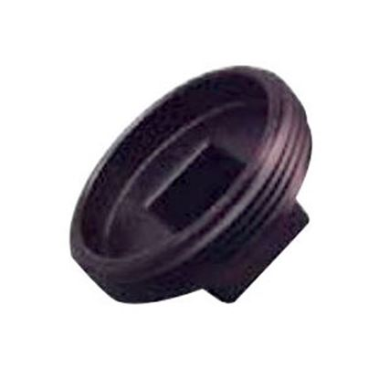"Picture of Lasalle Bristol  Black ABS 3"" MPT Cleanout Plug 633053 69-9253"